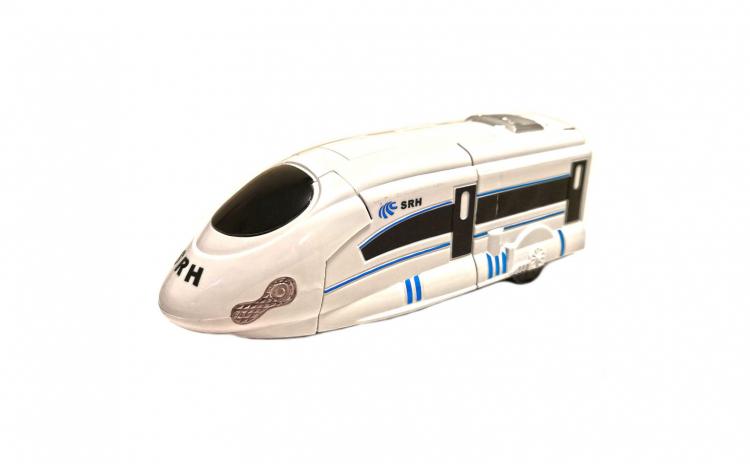 Tren Transformers 22 cm, cu lumini