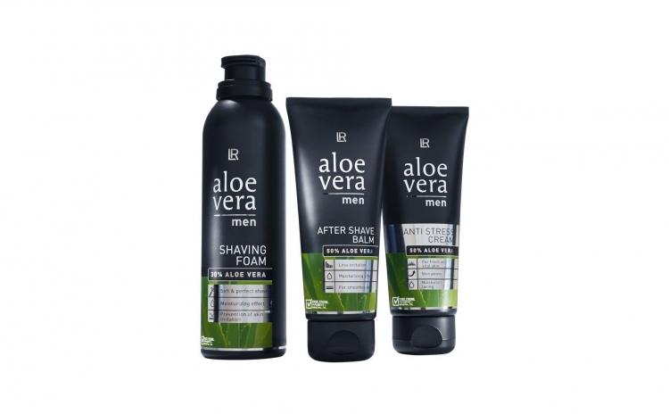 Set spuma de ras Aloe Vera I