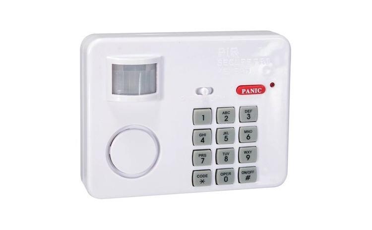 Alarma cu senzor de miscare si cod