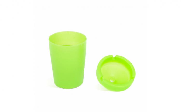 Scrumiera - fosforescenta - verde