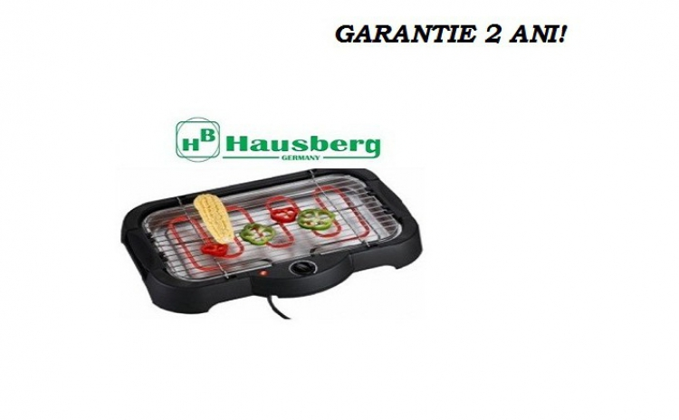 Gratar Electric Hausberg  Garantie 2 Ani  La Doar 109 Ron In Loc De 218 Ron