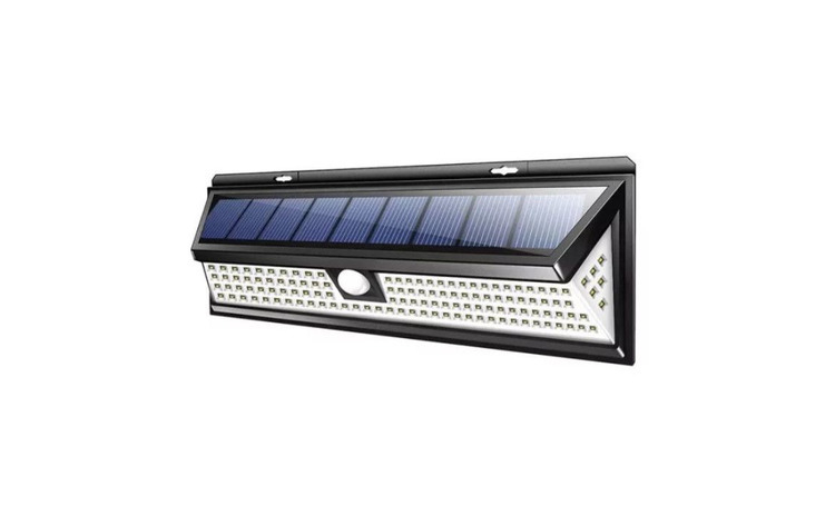 Lampa solara cu 118 LED-uri