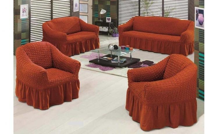 Huse pentru canapea, calitate superioara, 3-2-1-1