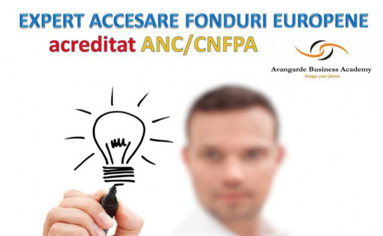 Curs Expert Accesare Fonduri Europene Timisoara- acreditat ANC, la 350 RON in loc de 850 RON