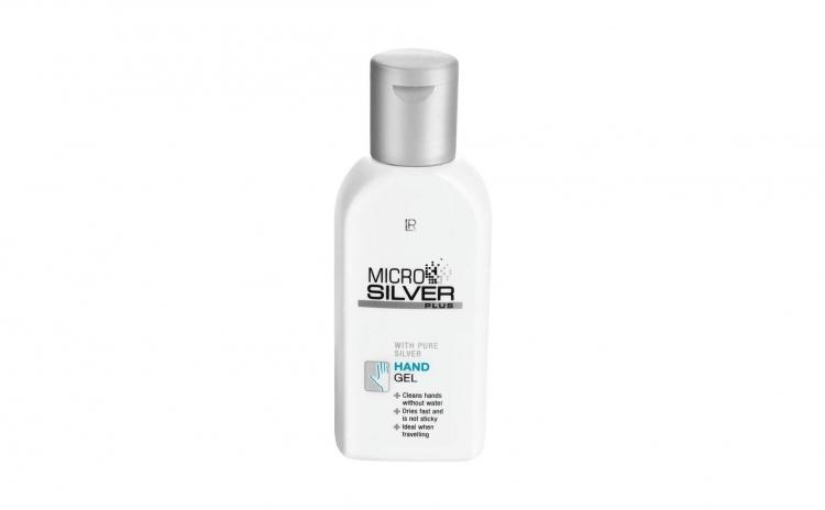 Gel pentru maini Microsilver Plus