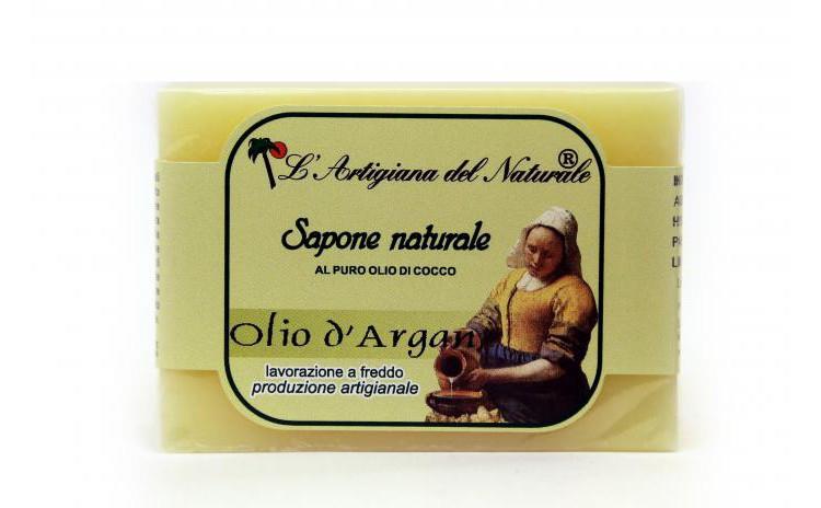 Sapun natural cu ulei de argan