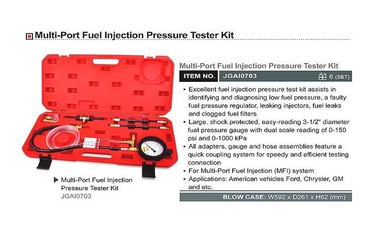 Kit masurare presiune combustibil 0-1000