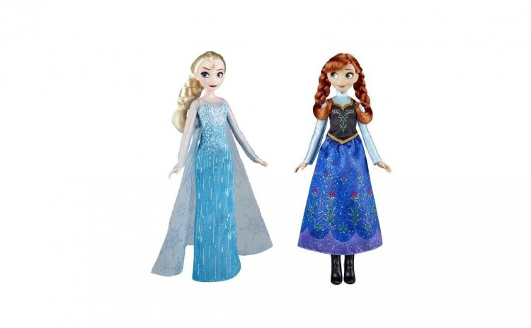 Papusa Anna + Papusa Elsa