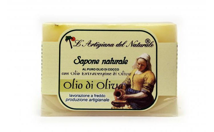 Sapun natural cu ulei de masline