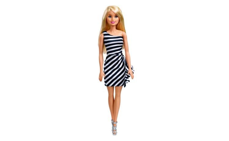 Papusa Barbie cu rochie si accesorii.