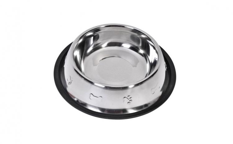 Castron metalic pentru hrana animale