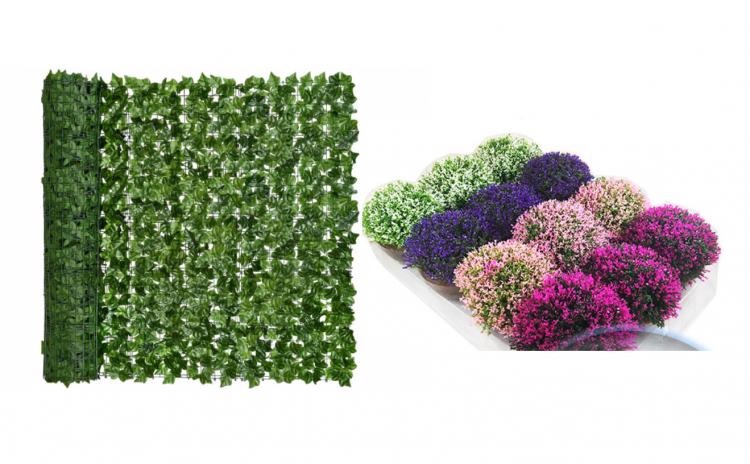 Gard artificial + floare Cadou