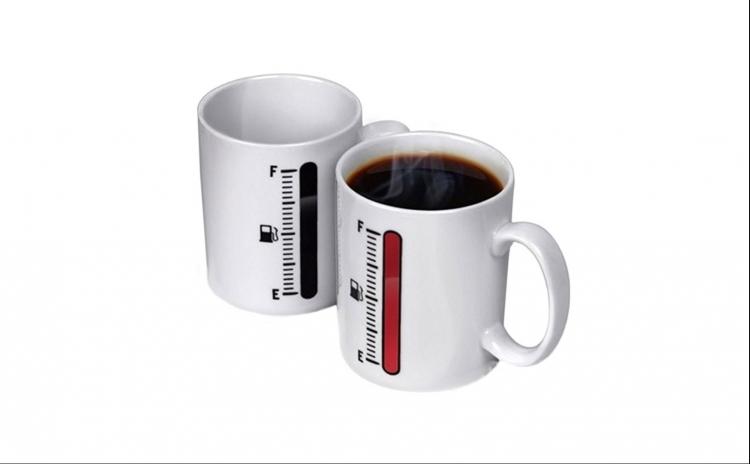 Cana Pentru Cafea Sau Ceai Termosensibila  La Doar 40 Ron In Loc De 60 Ron