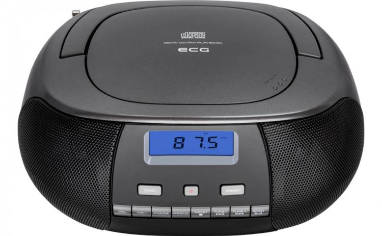 Radio CD Player ECG CDR 500 titan