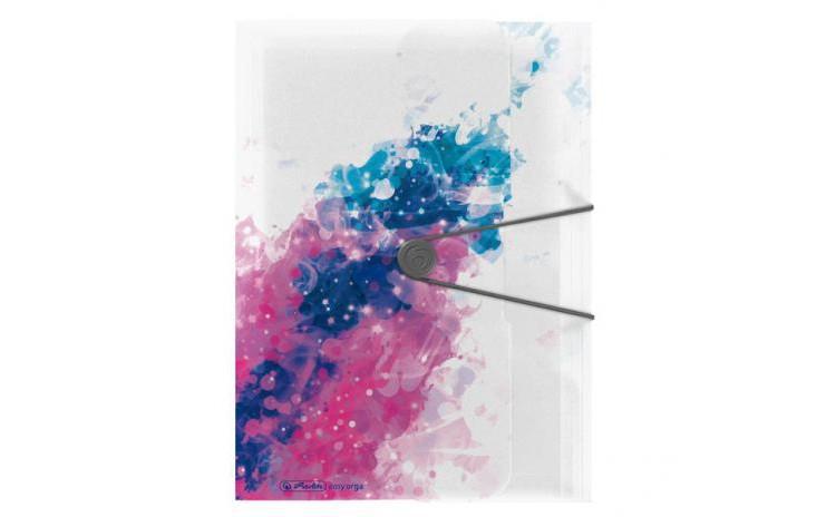 Imagine indisponibila pentru DOSAR MAPA A4 PP EOGT EXTENSIBILA INCHIDERE BUTON CU ELASTIC, SPLASH PINK