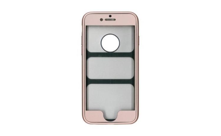 Husa 360 Silicon iPhone 6 Plus - Auriu