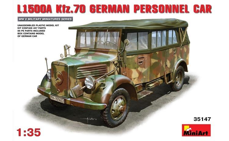 1:35 L1500A (Kfz.70) German Personnel