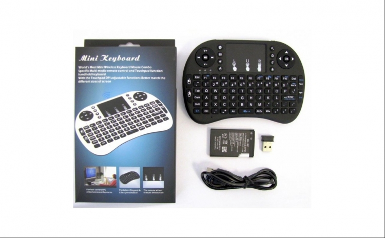 Mini-tastatura-wireless-touchpad