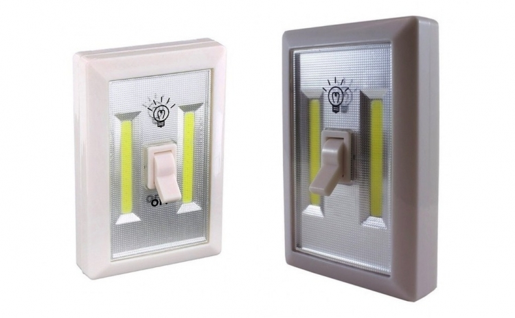 Set 2 intrerupatoare LED portabile