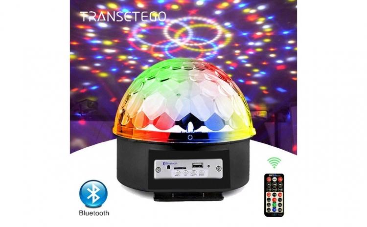 Glob Disco Led cu telecomanda si MP3