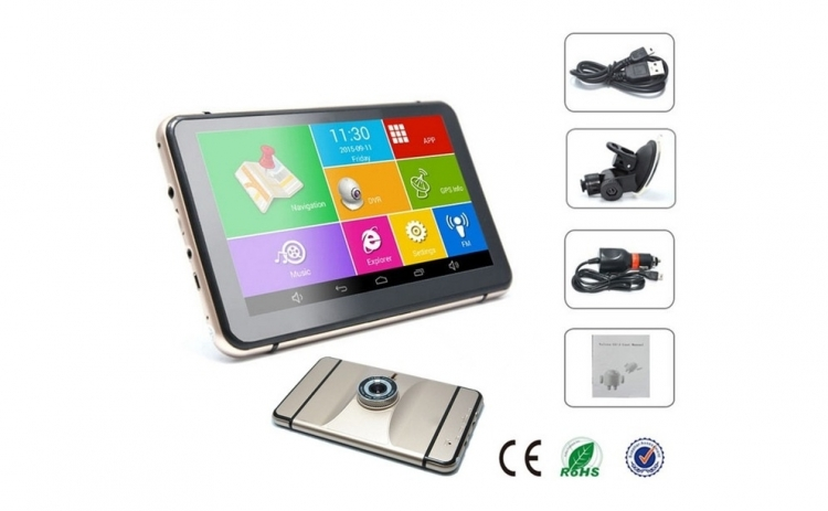 Sistem de navigatie GPS si Camera Auto DVR FullHD 1920x1080P