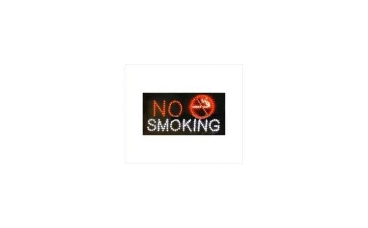 Reclama luminoasa - No Smoking