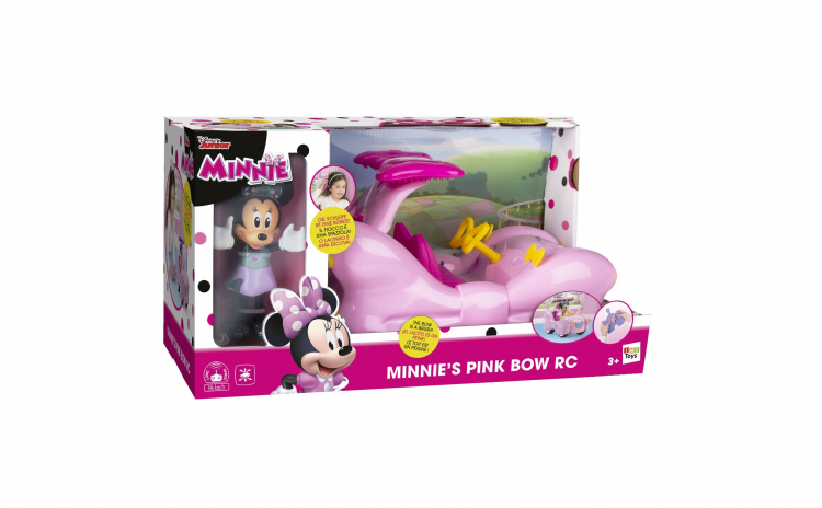 Masinuta Minnie Mouse si papusa
