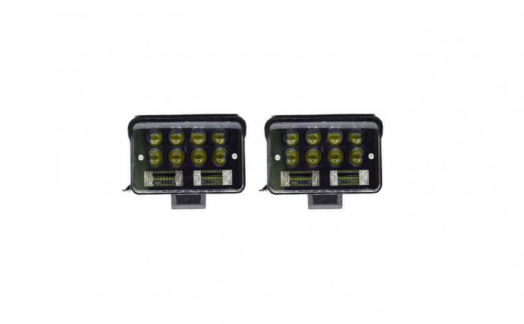 Set 2 proiectoare LED, 126W per proiecto