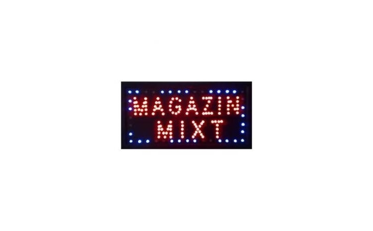 Reclama luminoasa - Magazin Mixt