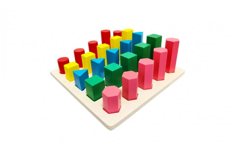Joc Montessori Forme Geometrice Marimi