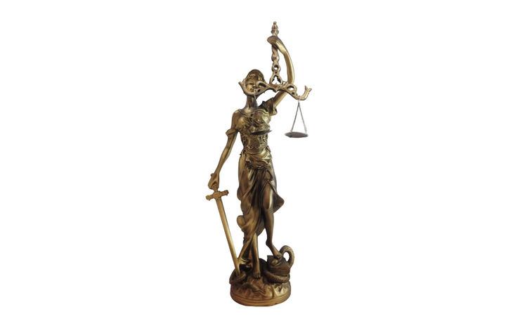 Statueta Themis-zeita Justitiei, S8823D