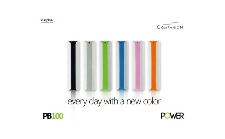 Imagine indisponibila pentru Baterie externa 2000 mAh E-Boda Power 100, design minimalist, diferse culori