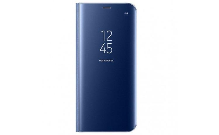 Husa Samsung Galaxy S9 Plus Flippy Flip Cover Oglinda Albastru