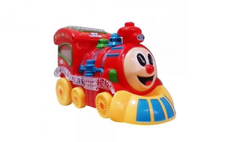 Locomotiva cu sunete, lumini si miscare