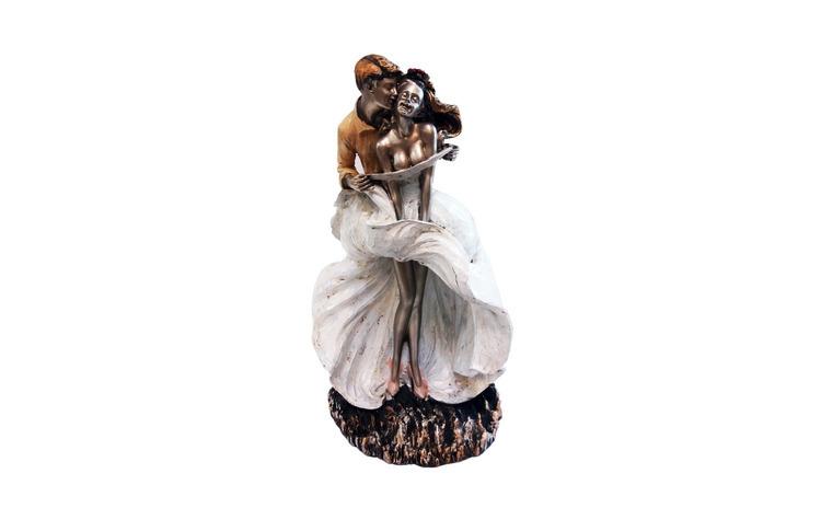Statueta tineri indragostiti, 30 cm,