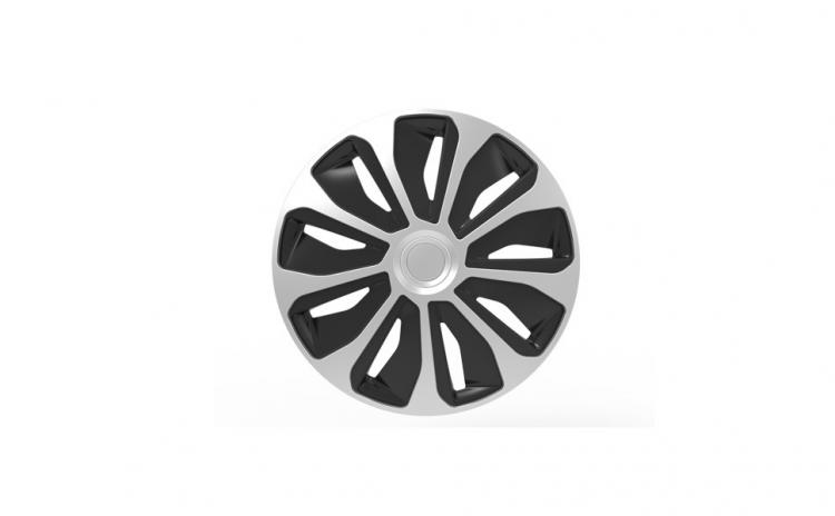 Set capace roti 14` platin silver and bl
