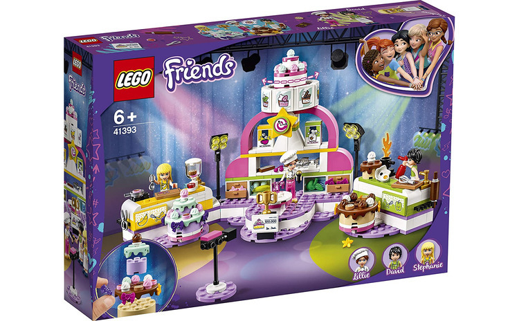 LEGO FRIENDS CONCURS DE COFETARI 41393