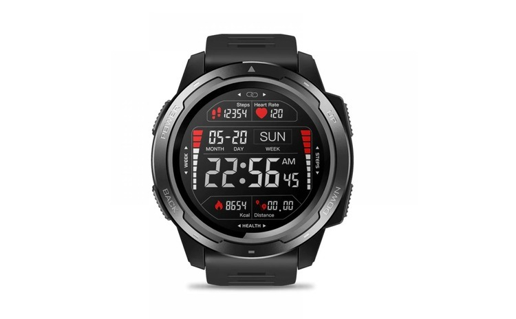 Ceas smartwatch Zeblaze VIBE 5, display