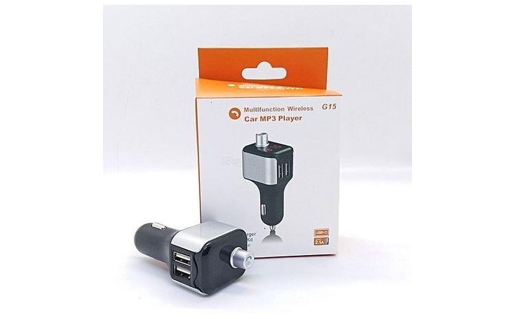 Modulator FM Car KIT G15 Dual USB 2.1A