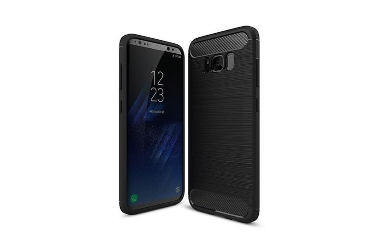 Imagine indisponibila pentru Husa Samsung Galaxy S8 G950-Iberry Carbon Black