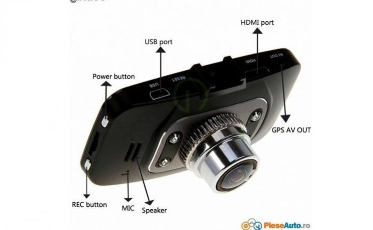 Camera video auto DVR H600
