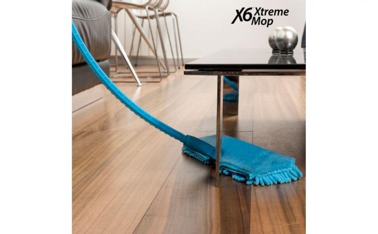 Mop flexibil - Flexibilitatea acestui produs va permite sa patrundeti in toate colturile greu accesi