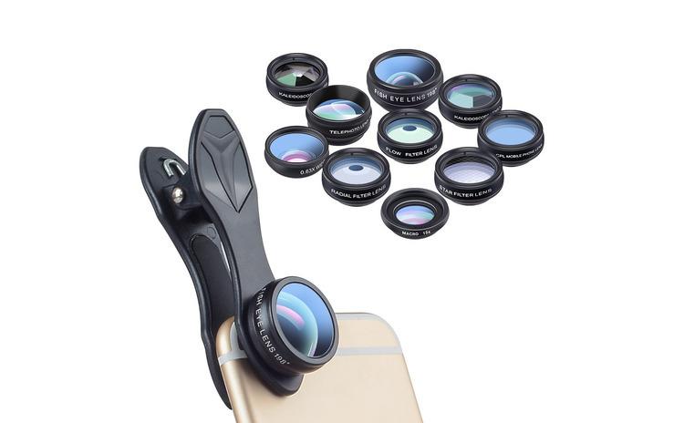 Set lentile 10 in 1 profesionale pentru