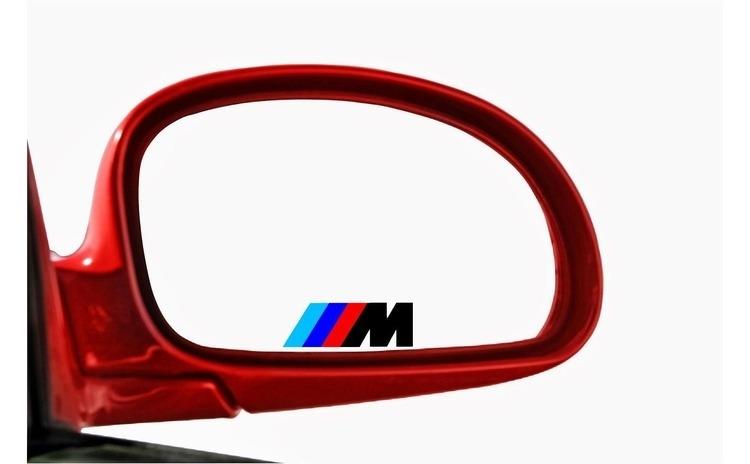 Sticker oglinda BMW (set 3 buc.)