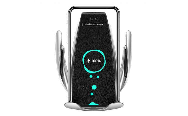 Suport telefon cu incarcator wireless 2i