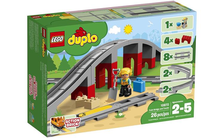 LEGO DUPLO POD SI SINE DE CALE FERATA