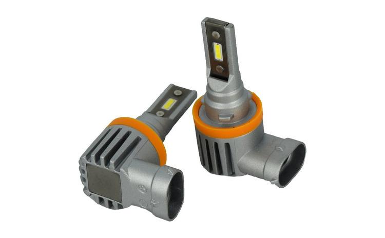 Set Bec H11B cu LED CSP2121  4000 lumen