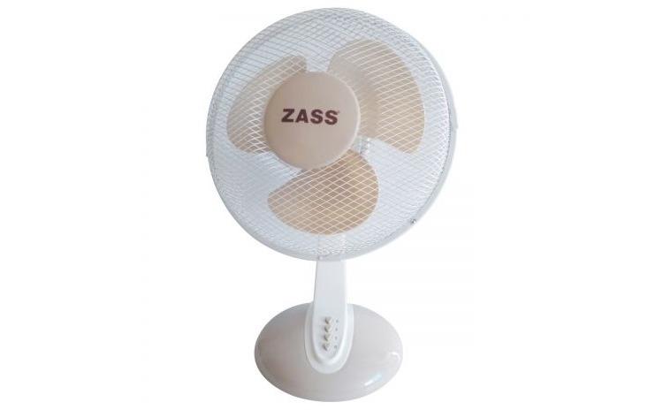 Imagine indisponibila pentru Ventilator de birou Zass ZTF 1201, 46W, 3 viteze, 30cm diametru, Alb