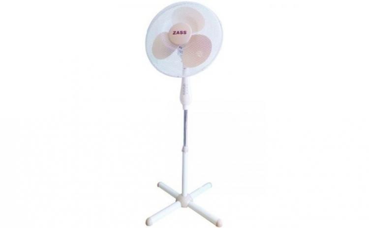 Imagine indisponibila pentru Ventilator cu picior Zass ZF 1601, 50 W, 3 viteze, 41cm diametru, Alb