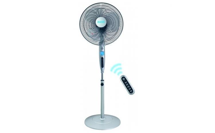 Imagine indisponibila pentru Ventilator Zass ZFTI 10R, 55W, display LCD, ionizare, timer, oscilare, telecomanda, Gri